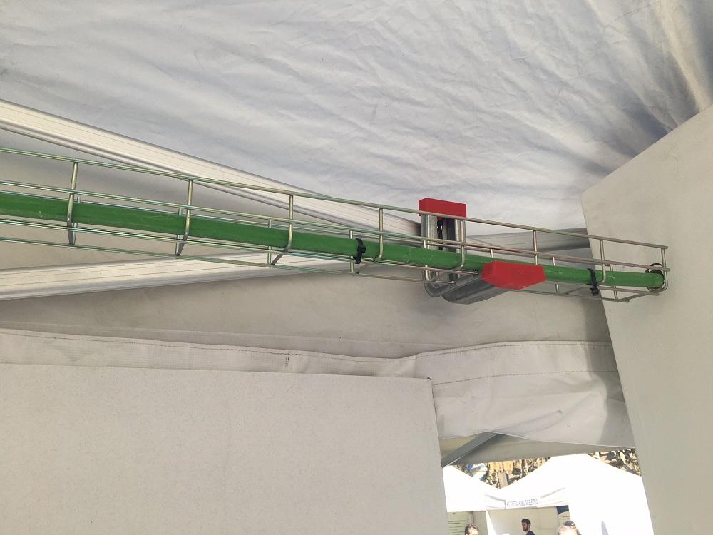 cable comunitario del parking
