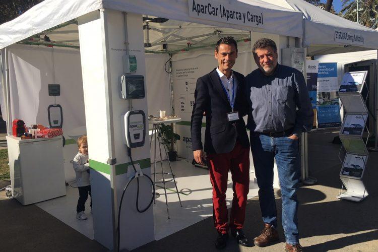 AparCar presenta en Expoelectric17 la solución de recarga para parkings comunitarios