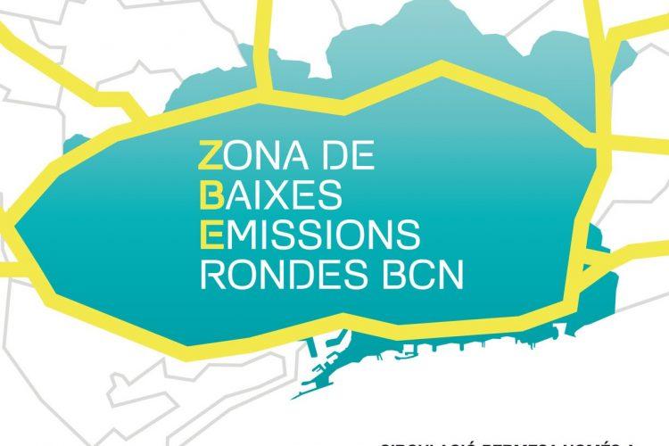 Zona de Bajas Emisiones (ZBE) en Barcelona: Así funciona